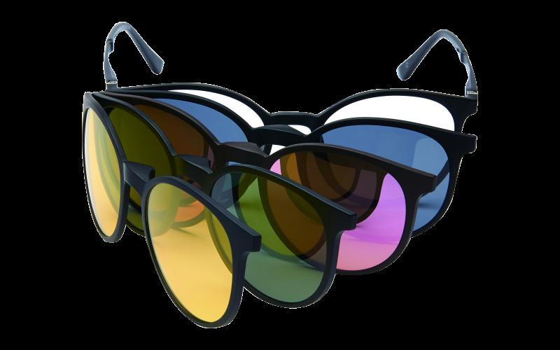 akiniai su klipsais